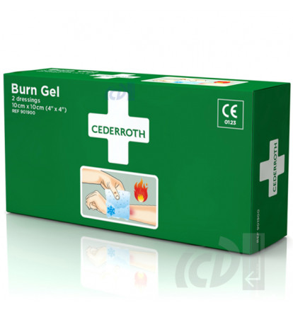 Żel na oparzenia CEDERROTH Burn Gel Dressing (REF-901900)