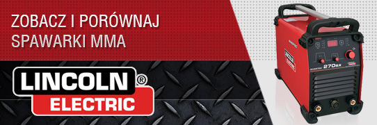 Spawarki MMA firmy Lincoln Electric